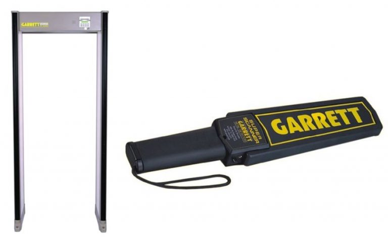 The School Board announced that they will use a walk-through metal detector, search bags