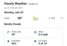 ocala weather, marion county weather