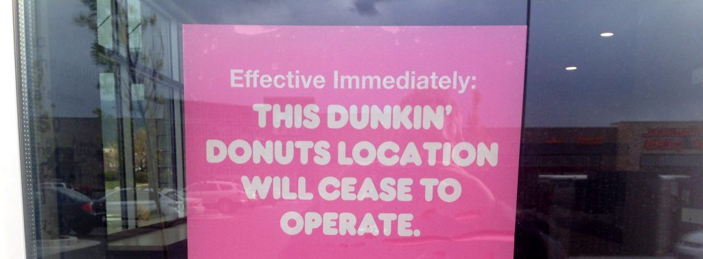 Ocala Post - Dunkin' Donuts to permanently close 800 U.S stores