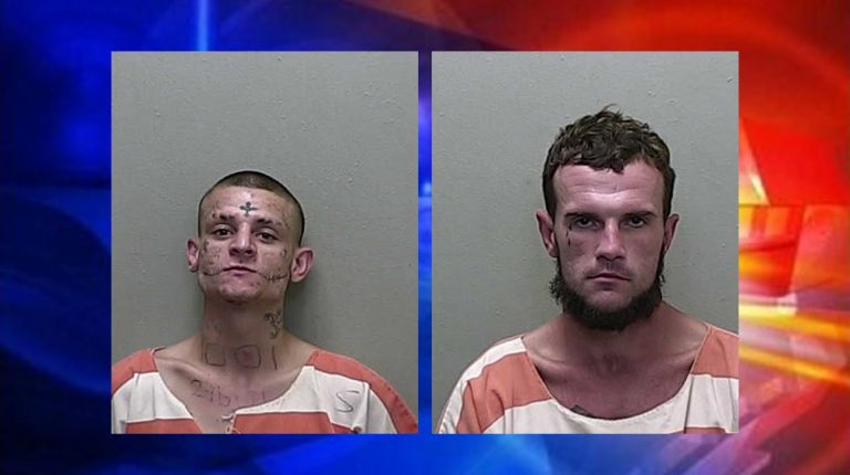 Traffic violation leads to drug charges for two Ocala men