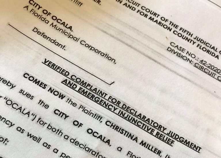 """Ocala business owner files lawsuit against the City of Ocala over """"unlawful mask ordinance"""""""