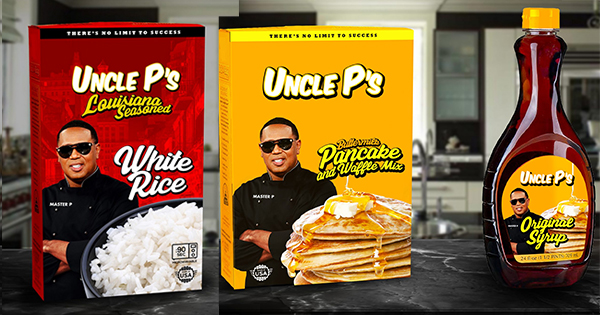 master p, uncle p, pancake mix