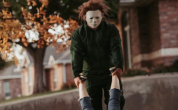 halloween, michael myers engagement, ocala post