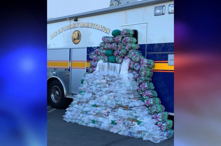 Largest methamphetamine bust in DEA history, used Sam's Club parking lot