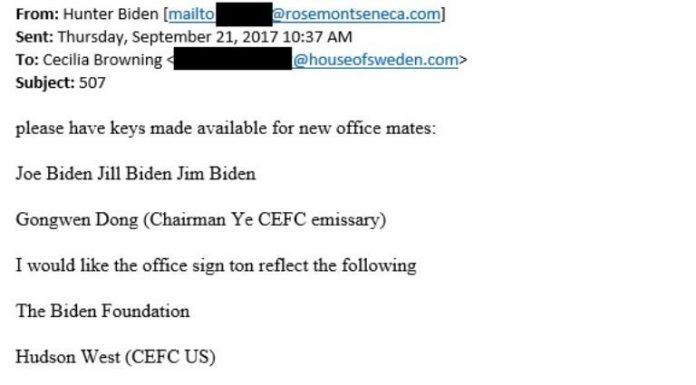 hunter biden emails, joe biden