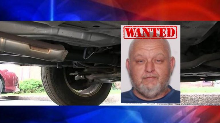 Felony warrants issued for catalytic converter thief