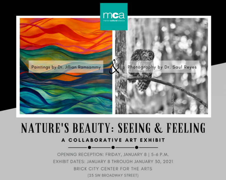 Nature's Beauty: Seeing and Feeling exhibit