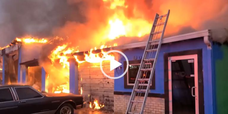 Marion County Fire Rescue battled fire at auto mechanic shop, one person injured