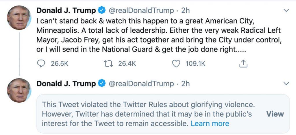 trump tweets, ocala post