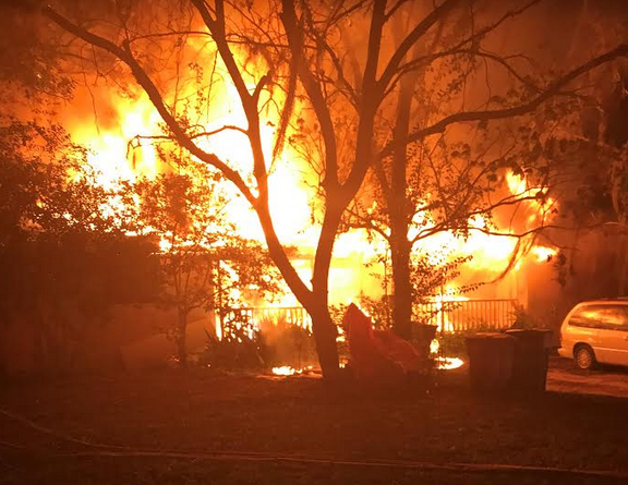 Fire destroys Ocala home, no one injured