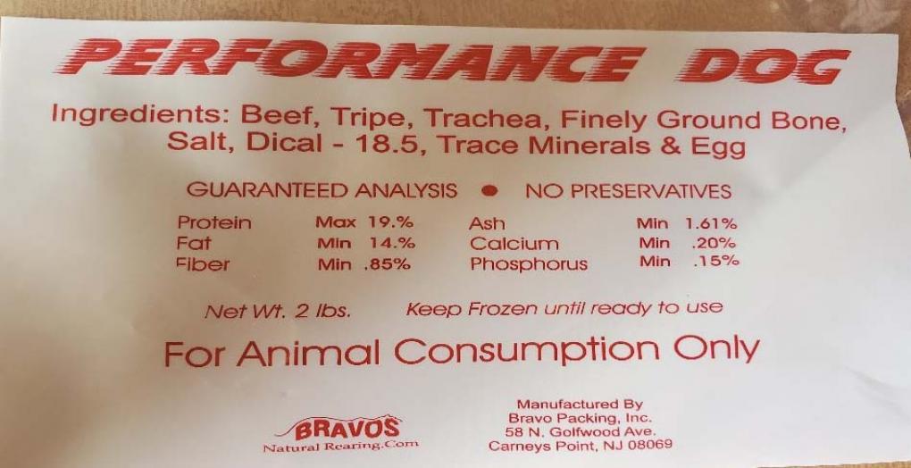 bravo dog food, ocala news, ocala post, recall