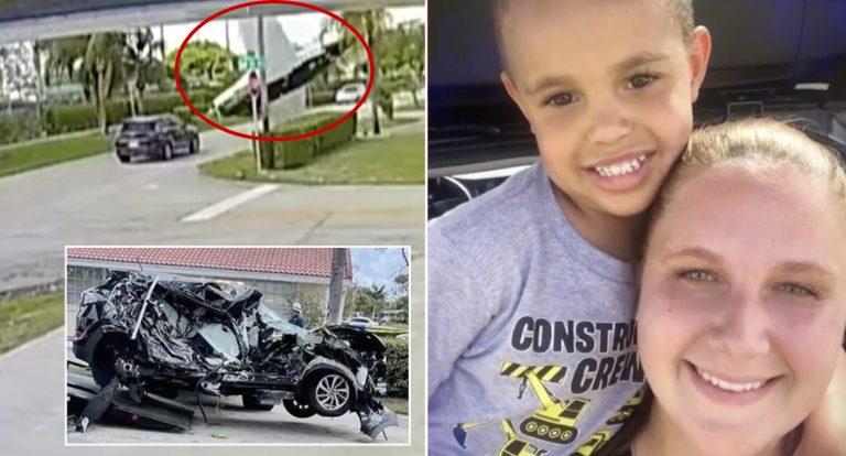 Plane crashes into SUV in Florida, kills three