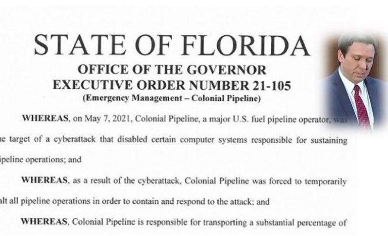 Gov. Ron DeSantis declares state of emergency over gas pipeline