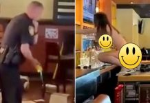 (UNCUT VIDEO) Florida woman gets naked, caused thousands in damage to Outback Steakhouse, tased