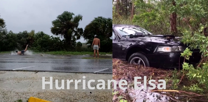 Video: How Floridians handle a hurricane, a Mustang didn't make it